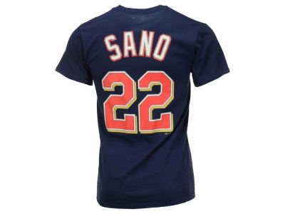 Minnesota Twins Miguel Sanó Majestic MLB Men's Official Player T-Shirt