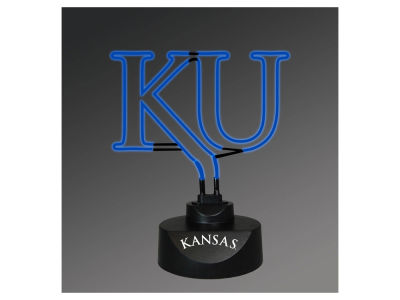 Kansas Jayhawks Team Logo Neon Light