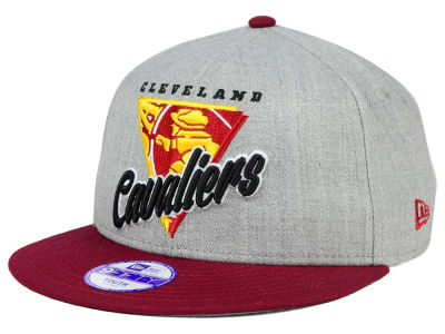 Cleveland Cavaliers New Era NBA HWC Youth Lil Triangle Offense 9FIFTY Snapback Cap