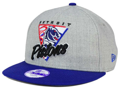 Detroit Pistons New Era NBA HWC Youth Lil Triangle Offense 9FIFTY Snapback Cap