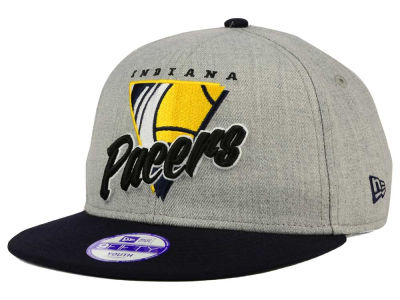 Indiana Pacers New Era NBA HWC Youth Lil Triangle Offense 9FIFTY Snapback Cap