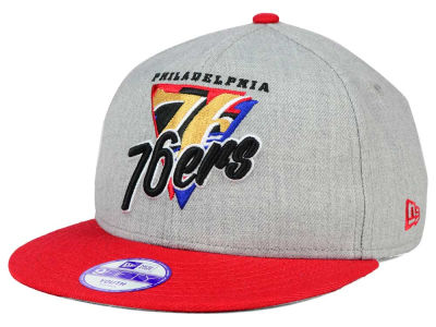 Philadelphia 76ers New Era NBA HWC Youth Lil Triangle Offense 9FIFTY Snapback Cap