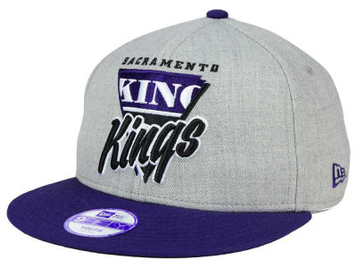 Sacramento Kings New Era NBA HWC Youth Lil Triangle Offense 9FIFTY Snapback Cap