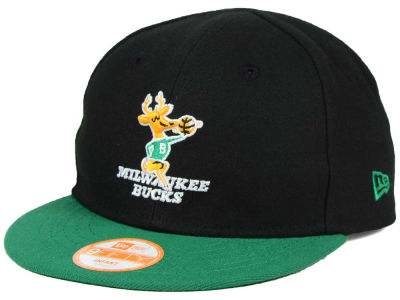 Milwaukee Bucks New Era NBA HWC Infant My 1st 9FIFTY Snapback Cap