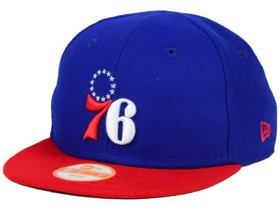 Philadelphia 76ers New Era NBA HWC Infant My 1st 9FIFTY Snapback Cap