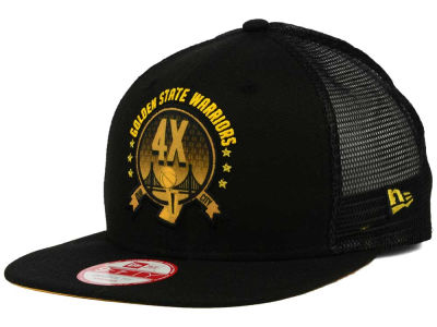 Golden State Warriors New Era NBA HWC Warriors Champ Pack 9FIFTY Snapback Cap