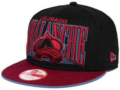 Colorado Avalanche New Era NHL Ice Block 9FIFTY Snapback Cap