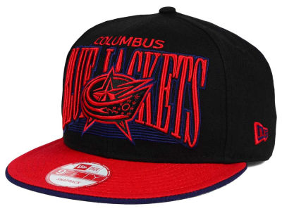 Columbus Blue Jackets New Era NHL Ice Block 9FIFTY Snapback Cap
