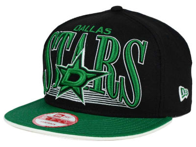 Dallas Stars New Era NHL Ice Block 9FIFTY Snapback Cap