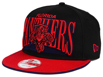 Florida Panthers New Era NHL Ice Block 9FIFTY Snapback Cap