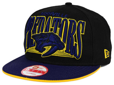 Nashville Predators New Era NHL Ice Block 9FIFTY Snapback Cap