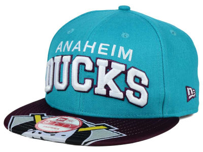 Anaheim Ducks New Era NHL Double Flip 9FIFTY Snapback Cap