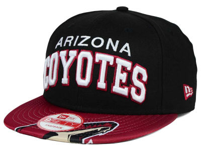 Phoenix Coyotes New Era NHL Double Flip 9FIFTY Snapback Cap
