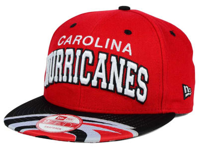 Carolina Hurricanes New Era NHL Double Flip 9FIFTY Snapback Cap