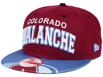 Colorado Avalanche New Era NHL Double Flip 9FIFTY Snapback Cap