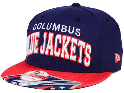 Columbus Blue Jackets New Era NHL Double Flip 9FIFTY Snapback Cap