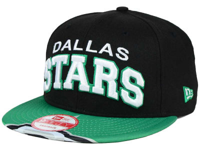 Dallas Stars New Era NHL Double Flip 9FIFTY Snapback Cap