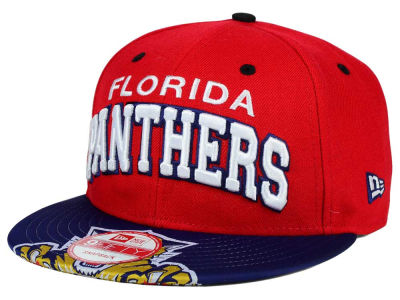 Florida Panthers New Era NHL Double Flip 9FIFTY Snapback Cap
