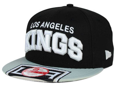 Los Angeles Kings New Era NHL Double Flip 9FIFTY Snapback Cap