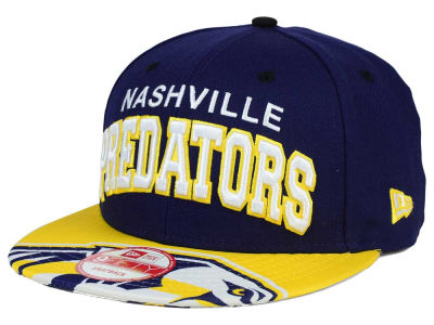 Nashville Predators New Era NHL Double Flip 9FIFTY Snapback Cap