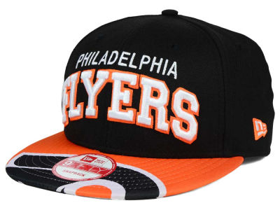 Philadelphia Flyers New Era NHL Double Flip 9FIFTY Snapback Cap