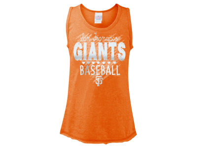 San Francisco Giants 5th & Ocean MLB Girls Clear Glitter Tank