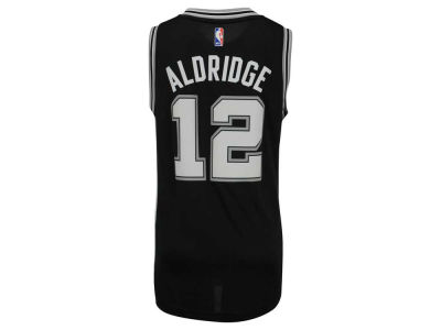 San Antonio Spurs LaMarcus Aldridge adidas NBA Men's New Swingman Jersey