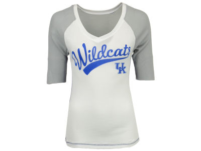 Kentucky Wildcats G-III Sports NCAA Women's Home Run 3/4 Sleeve Raglan T-Shirt