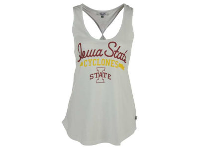 Iowa State Cyclones GIII NCAA Women's Short Stop Twist Back Tank Top