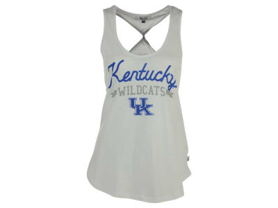 Kentucky Wildcats GIII NCAA Women's Short Stop Twist Back Tank Top