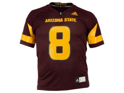 Arizona State Sun Devils #8 adidas NCAA Replica Football Jersey
