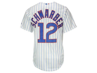 Chicago Cubs Kyle Schwarber Majestic MLB Men's Player Replica CB Jersey