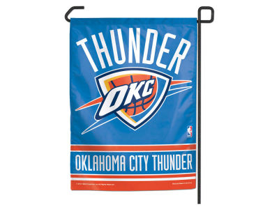 Oklahoma City Thunder Garden Flag