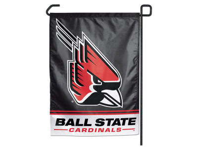 Ball State Cardinals Garden Flag