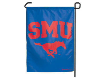 Southern Methodist Mustangs Garden Flag