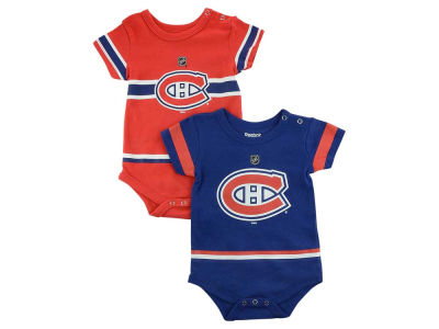 Montreal Canadiens NHL CN Infant Jersey Creeper Set