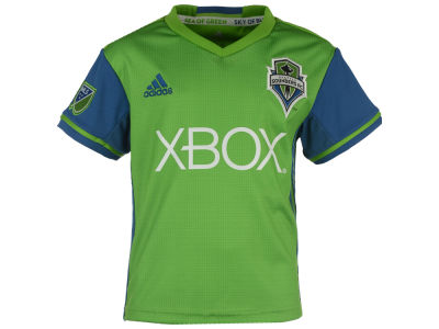 Seattle Sounders FC adidas MLS Kids Replica Primary Jersey