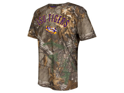 LSU Tigers NCAA Youth Realtree Trail T-Shirt