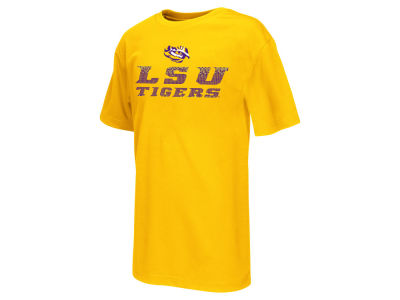 LSU Tigers NCAA Youth Pixel T-Shirt