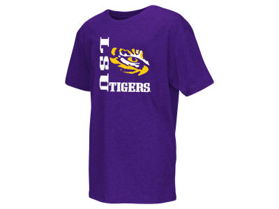 LSU Tigers NCAA Youth Trek Print T-Shirt