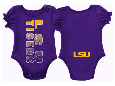 LSU Tigers NCAA Newborn Girls Sunset Creeper
