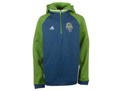 Seattle Sounders FC adidas MLS Youth Travel Hoodie