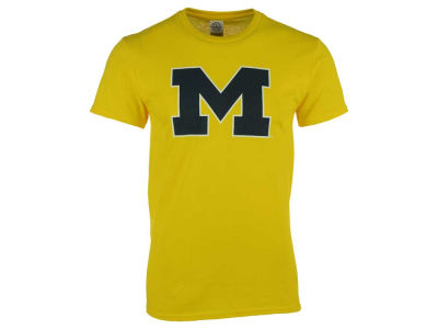 Michigan Wolverines NCAA Men's Big Logo T-Shirt