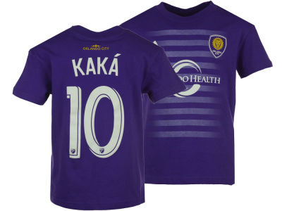 Orlando City SC Ricardo Kaka adidas MLS Kids Name and Number T-Shirt