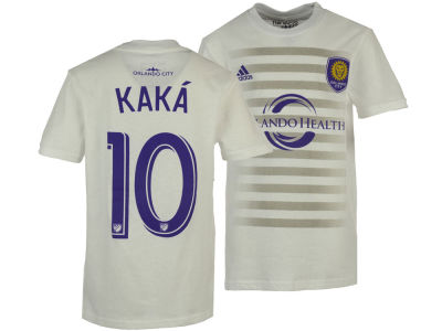 Orlando City SC Ricardo Kaka adidas MLS Youth Name and Number T-Shirt