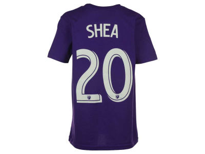 Orlando City SC Brek Shea adidas MLS Youth Name and Number T-Shirt