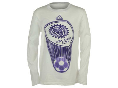 Orlando City SC MLS Youth Translucent Long Sleeve T-Shirt