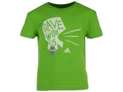 Seattle Sounders FC adidas MLS Kids Rave With Us T-Shirt