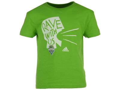 Seattle Sounders FC adidas MLS Youth Rave With Us T-Shirt
