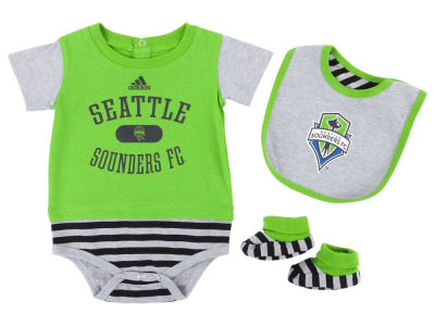 Seattle Sounders FC MLS Infant Mismatch Essentials Set
